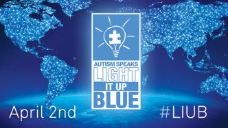 Light It Up Blue April 2nd