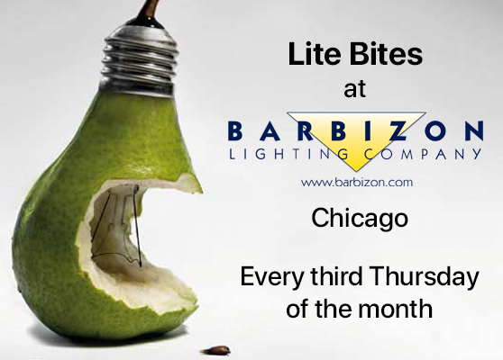 Lite Bites at Barbizon Lighting - Chicago
